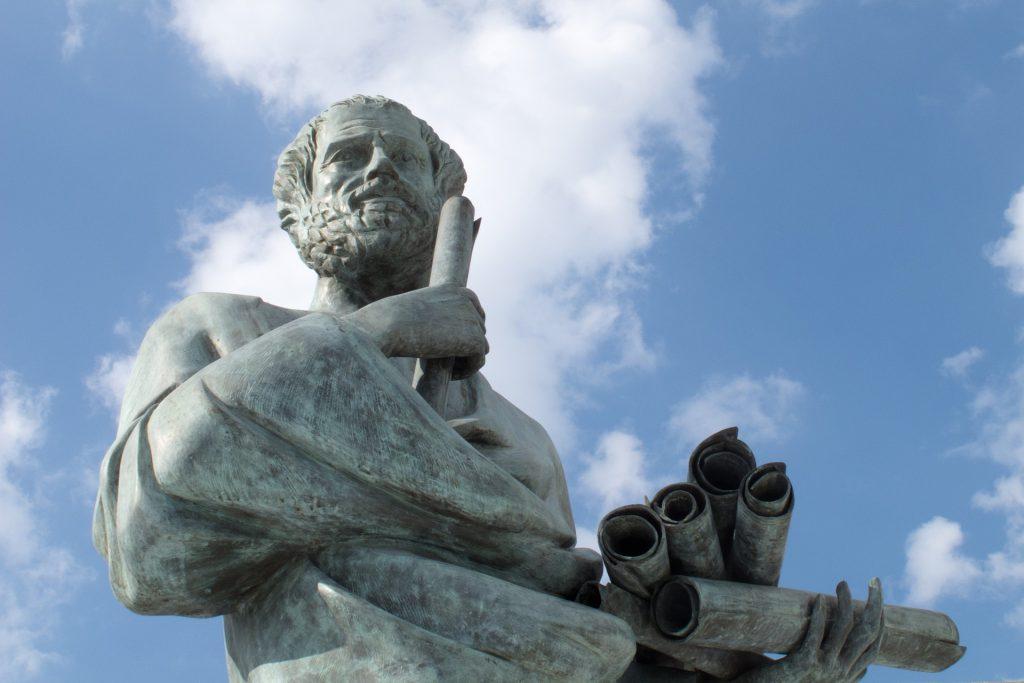 filosoof Socrates maakt ook keuzes.