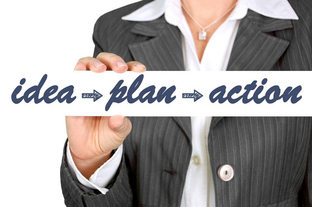 doelen stellen betekent in actie komen