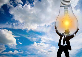 Energie-geven-licht