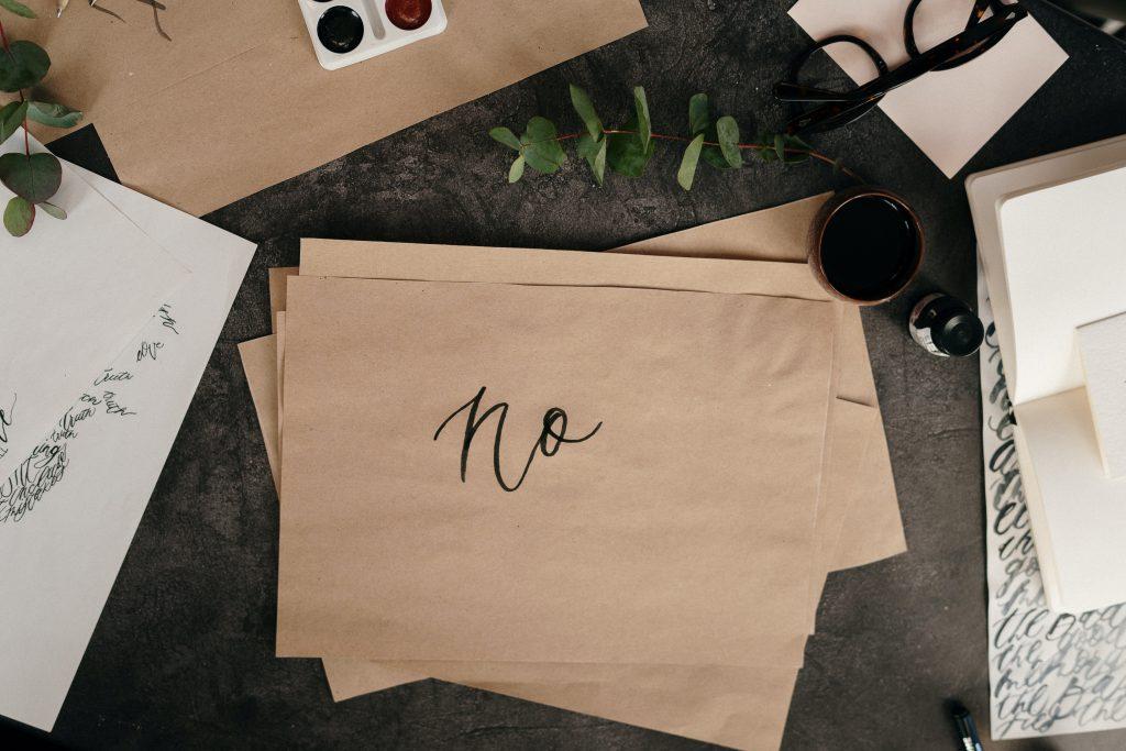 Nee zeggen- Nee